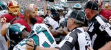 In Redskins-Eagles fight, officials were the winners