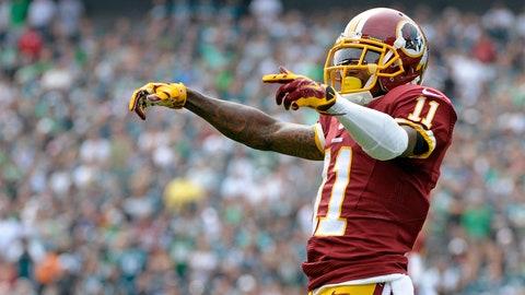 DeSean Jackson, WR, Redskins (shoulder): Questionable