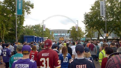 TEN | London football fans don't just like the Jaguars