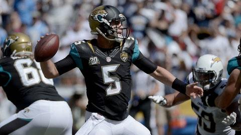 Pittsburgh Steelers at Jacksonville Jaguars