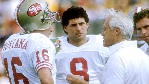 Joe Montana and Steve Young (49ers)
