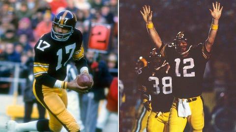 Joe Gilliam and Terry Bradshaw (Steelers)
