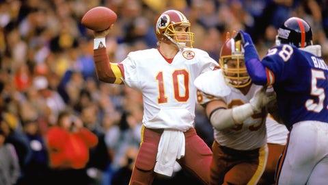 Jay Schroeder and Doug Williams (Redskins)