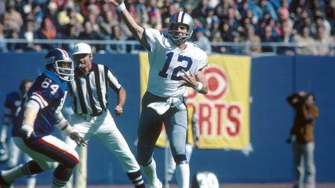Roger Staubach and Craig Morton (Cowboys)