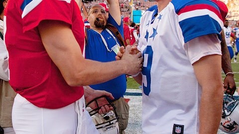 Philip Rivers and Drew Brees (Chargers)