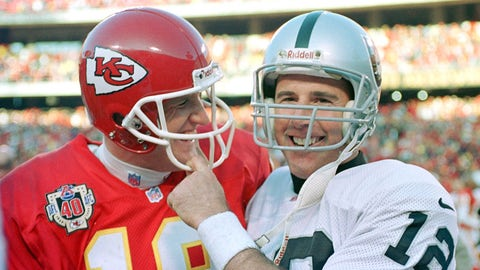 Elvis Grbac and Rich Gannon (Chiefs)