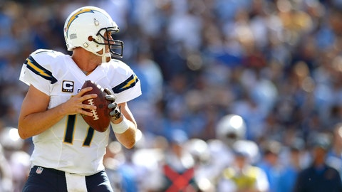5. San Diego Chargers