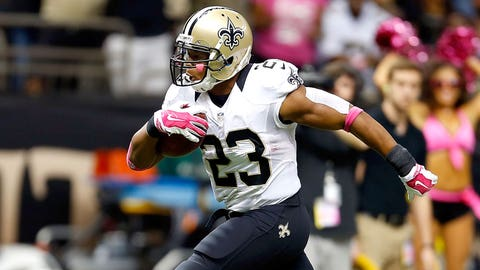 Pierre Thomas — 2007 — Undrafted