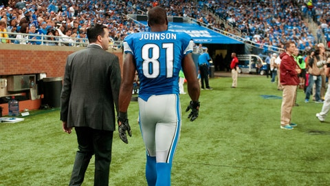 Calvin Johnson, WR, Lions