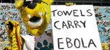 UPDATE: Jaguars apologize for mascot's Ebola joke