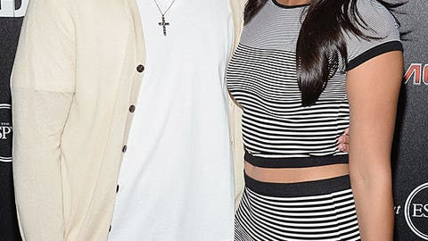 Jermaine Kearse and Marisa Ventura