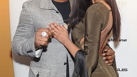 Hakeem Nicks and model Ariel Meredith