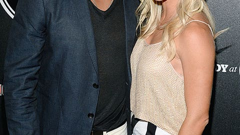 Golden Tate and Elise Pollard