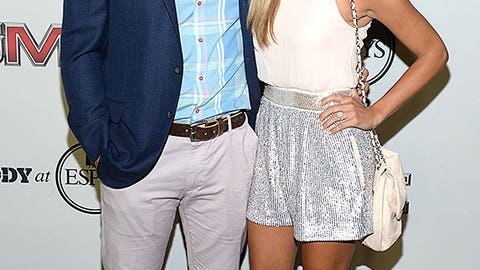 Christian Ponder and Samantha Ponder