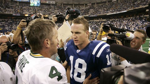Week 3 2004 season: Indianapolis 45, Green Bay 31