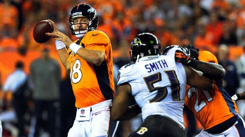 2013 season-opener: Denver 49, Baltimore 27