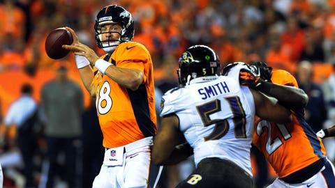 2013 season-opener: Denver 49, Baltimore 27