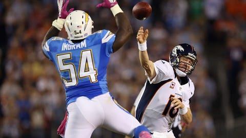 2012 season Week 6: Denver 35, San Diego 24