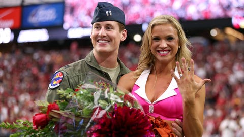 Cardinals cheerleader proposal