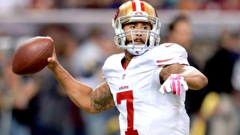 San Francisco 49ers: Colin Kaepernick, QB