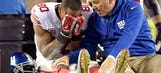 Ryan Williams' outlook on recovery from torn patella tendon is bad news for Victor Cruz