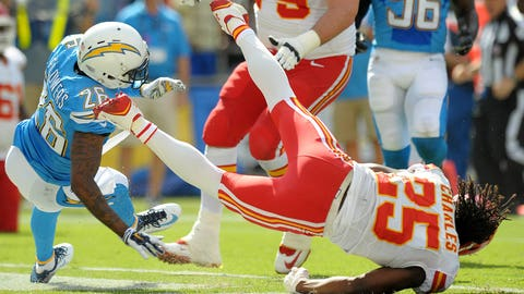 Brandon Flowers, CB, Chargers