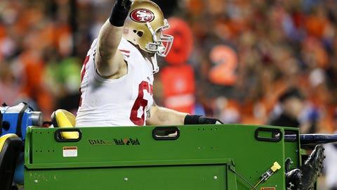 Daniel Kilgore, C, 49ers