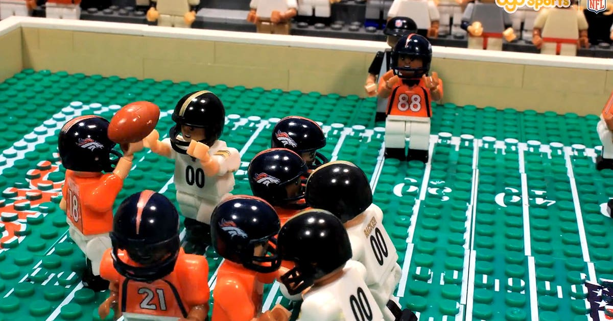 Relive Peyton Manning's milestone TD passes in Lego-like glory | FOX ...