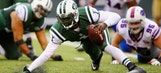 Geno Smith, Michael Vick combine for 6 turnovers as Bills roll, 43-23
