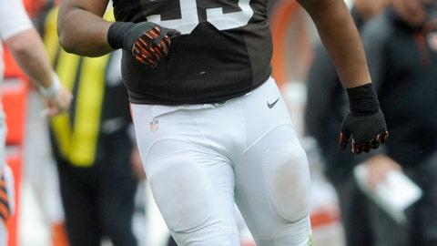 John Hughes, DE, Browns