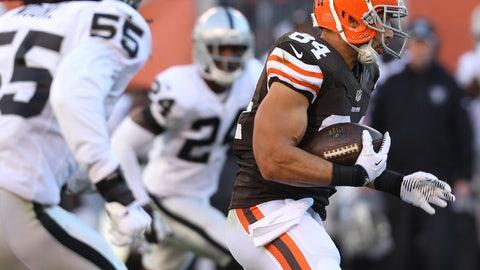 Jordan Cameron, TE, Browns