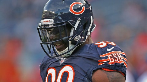 Lamarr Houston, OLB, Bears