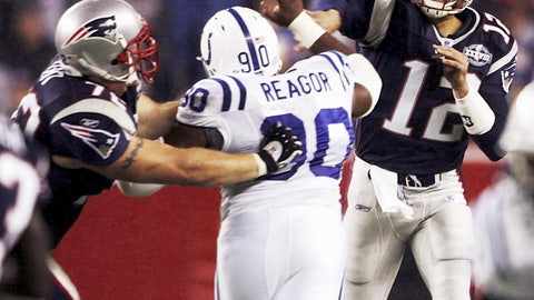 2004 season Week 1: New England 27, Indianapolis 24