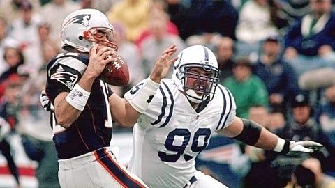 2001 season Week 3: New England 44, Indianapolis 13