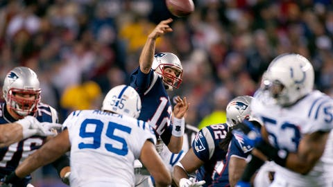 2010 season Week 11: New England 31, Indianapolis 28