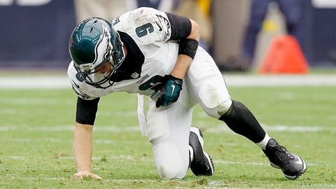 Philadelphia quarterback Nick Foles (clavicle)