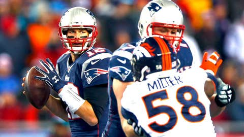 2014 season Week 9: New England 43, Denver 21