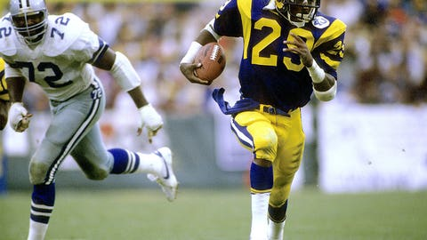 Eric Dickerson, Los Angeles Rams and Indianapolis Colts