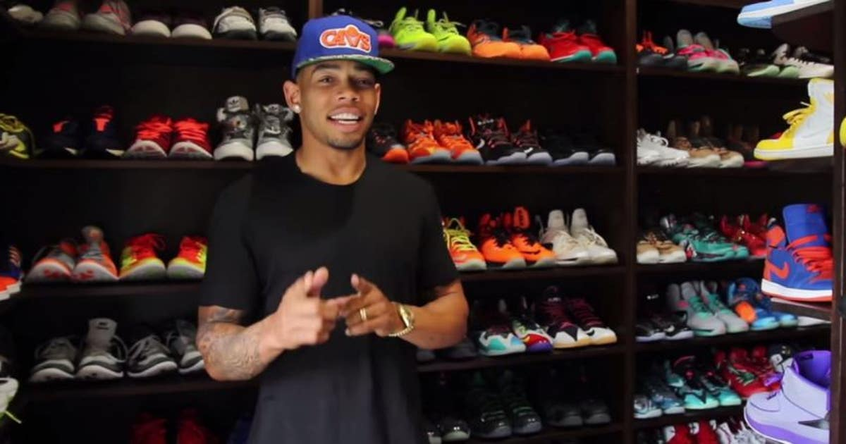Browns Joe Haden Has A Ridiculous Sneaker Closet FOX Sports