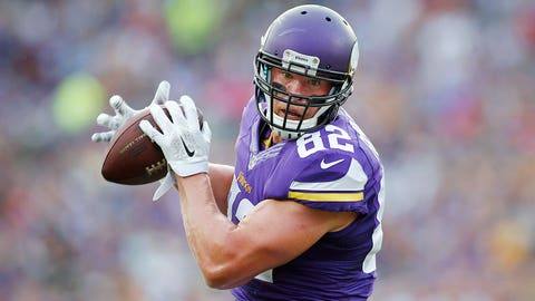 Kyle Rudolph -- 2nd round, 43rd overall