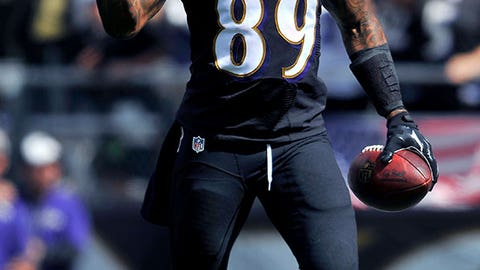 Baltimore Ravens: Steve Smith Sr., WR, age 35 (born 5/21/79)