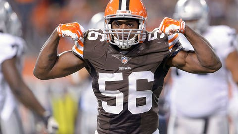 Cleveland Browns: Karlos Dansby, LB, age 33 (born: 11/3/81)
