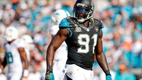 Jacksonville Jaguars: Chris Clemons, DE, age 33 (born 10/30/81)