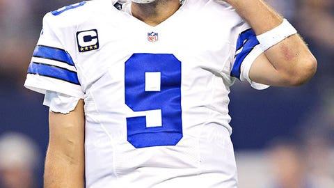 Dallas Cowboys: Tony Romo: QB, age 34 (born 4/21/80)
