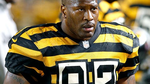Pittsburgh Steelers: James Harrison, LB, 36 (born 5/4/78)