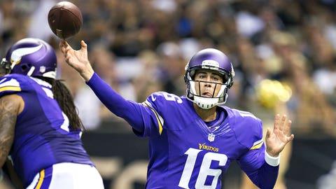 Minnesota Vikings: Matt Cassel, QB, age 33 (born 1/27/81)