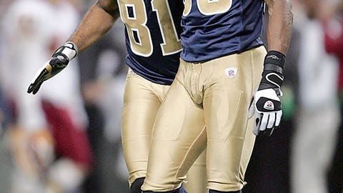 Isaac Bruce and Torry Holt
