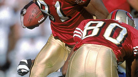 Terrell Owens and Jerry Rice