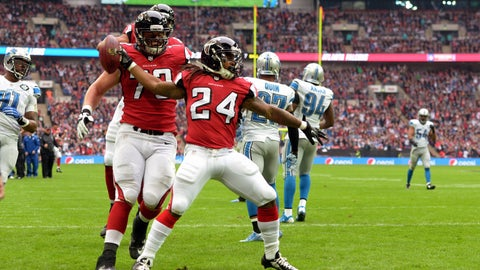 September 24: Atlanta Falcons at Detroit Lions, 1 p.m. ET