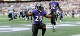 Ravens pull away to 21-7 win over Titans